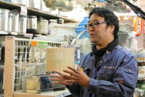 和田厨房道具の和田佳之専務取締役